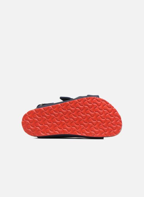 Sandali e scarpe aperte Birkenstock Milano Kids Azzurro immagine dall'alto