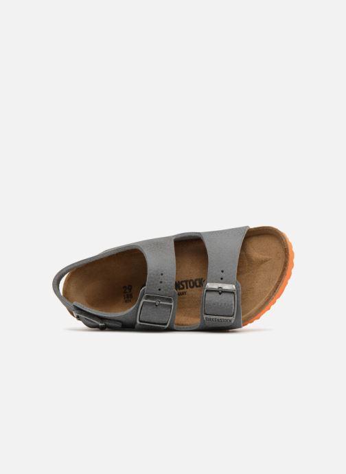 Sandales et nu-pieds Birkenstock Milano Birko Flor Gris vue gauche