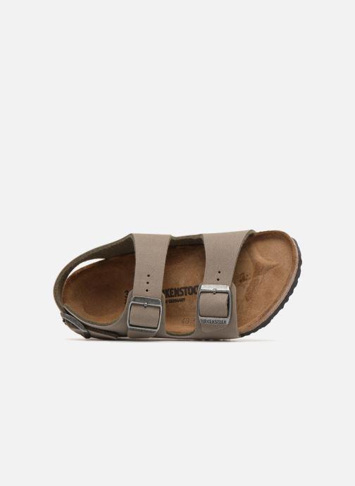 Sandales et nu-pieds Birkenstock Milano Birko Flor Vert vue gauche