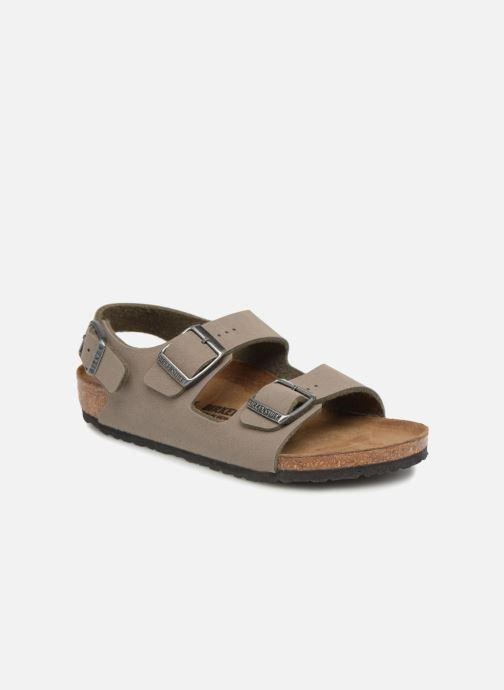 Sandales et nu-pieds Birkenstock Milano Birko Flor Vert vue détail/paire