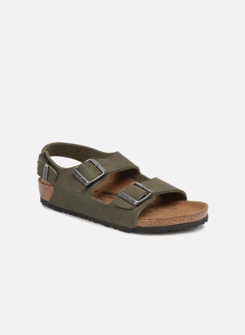 Sandales et nu-pieds Birkenstock Milano Kids Vert vue détail/paire