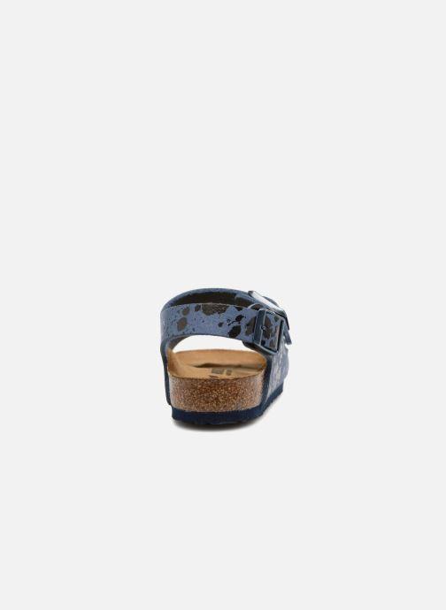 Sandali e scarpe aperte Birkenstock Milano Kids Azzurro immagine destra