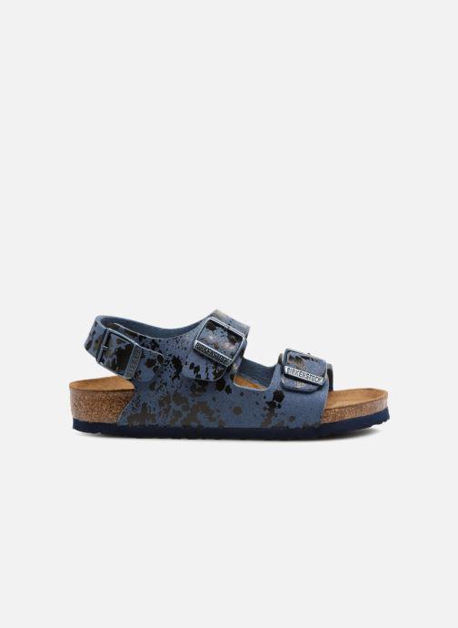 Sandali e scarpe aperte Birkenstock Milano Kids Azzurro immagine posteriore