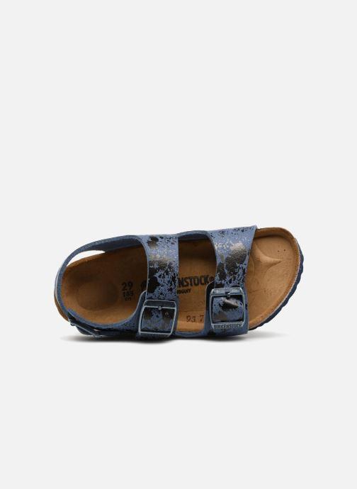 Sandali e scarpe aperte Birkenstock Milano Kids Azzurro immagine sinistra