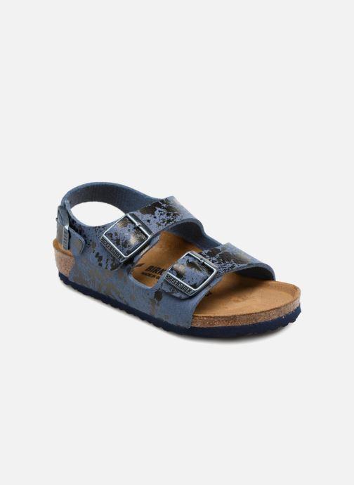 46d3ee624bd Birkenstock Milano Kids (Blue) - Sandals chez Sarenza (324193)