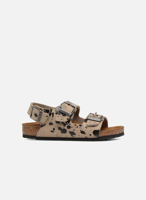 Sandales et nu-pieds Birkenstock Milano Birko Flor Beige vue derrière