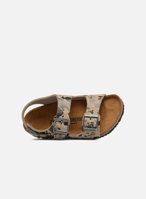 Sandales et nu-pieds Birkenstock Milano Birko Flor Beige vue gauche
