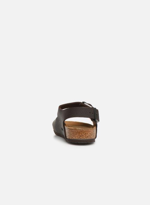 Sandales et nu-pieds Birkenstock Milano Birko Flor Marron vue droite