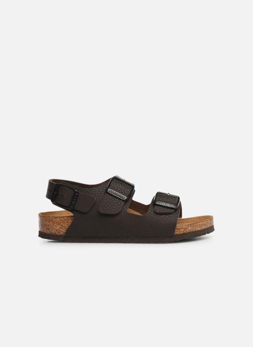 Sandales et nu-pieds Birkenstock Milano Birko Flor Marron vue derrière