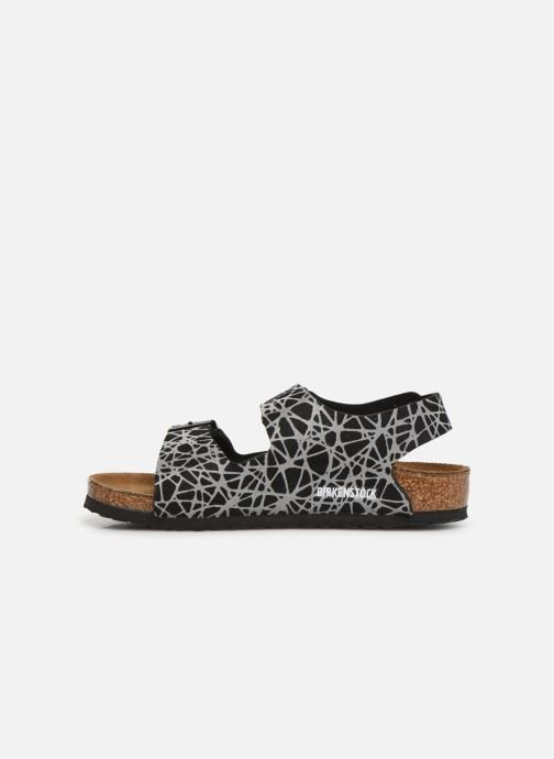 Sandals Birkenstock Milano Kids Black front view