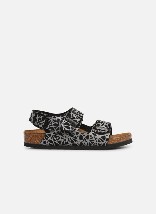 Sandals Birkenstock Milano Kids Black back view