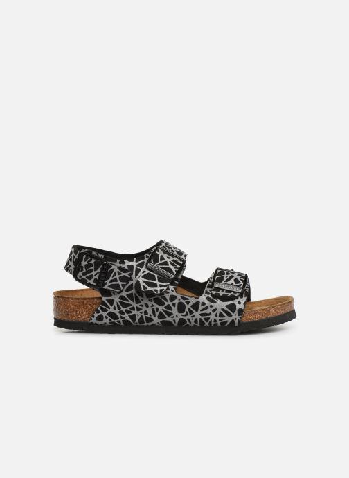 Sandales et nu-pieds Birkenstock Milano Birko Flor Noir vue derrière