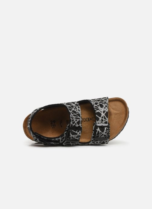 Sandals Birkenstock Milano Kids Black view from the left