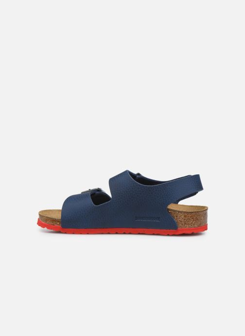 Sandales et nu-pieds Birkenstock Milano Kids Bleu vue face