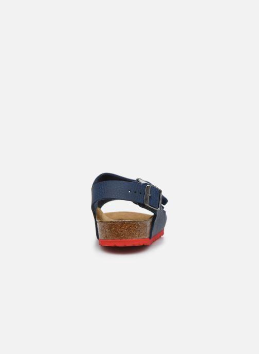 Sandales et nu-pieds Birkenstock Milano Kids Bleu vue droite