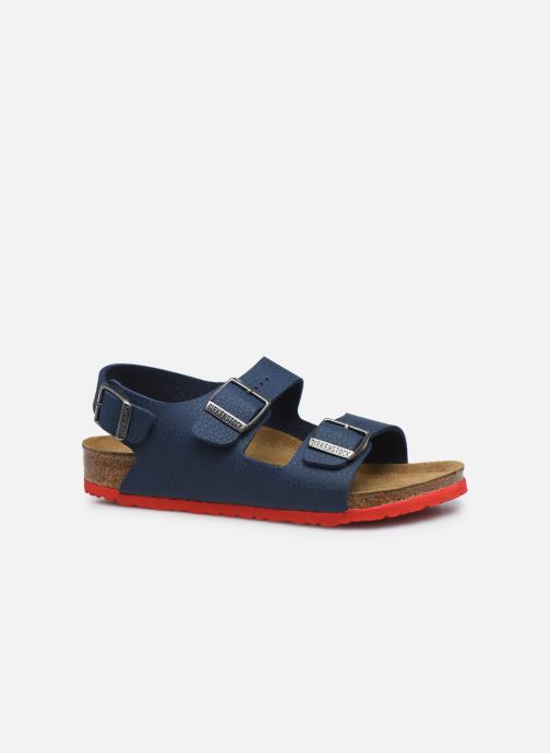 Sandales et nu-pieds Birkenstock Milano Birko Flor Bleu vue derrière