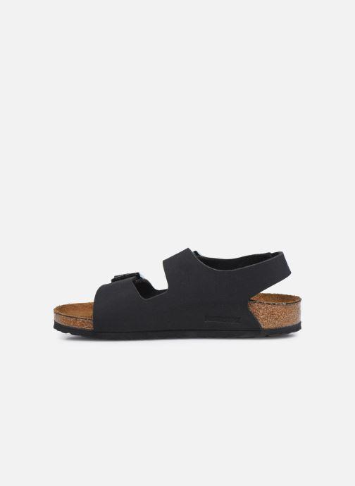 Sandales et nu-pieds Birkenstock Milano Birko Flor Noir vue face