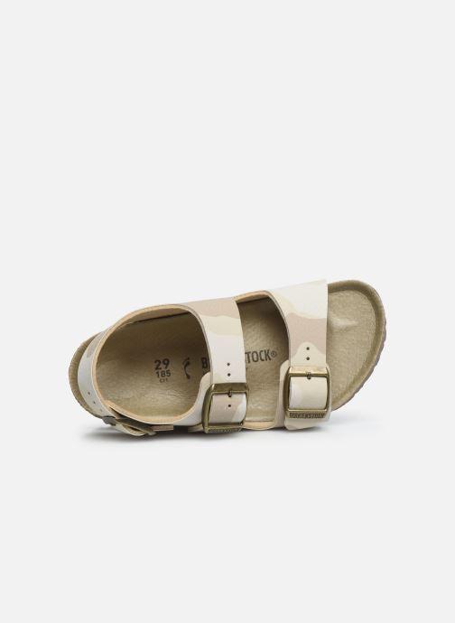Sandales et nu-pieds Birkenstock Milano Kids Beige vue gauche