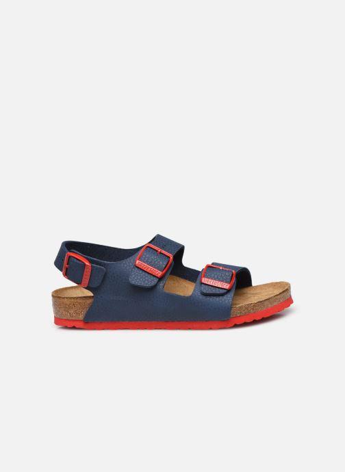 Sandali e scarpe aperte Birkenstock Milano Birko Flor Azzurro immagine posteriore
