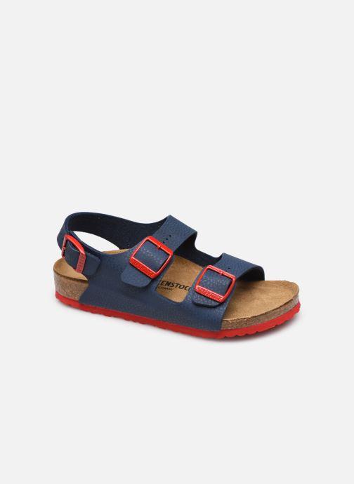 Sandali e scarpe aperte Birkenstock Milano Birko Flor Azzurro vedi dettaglio/paio