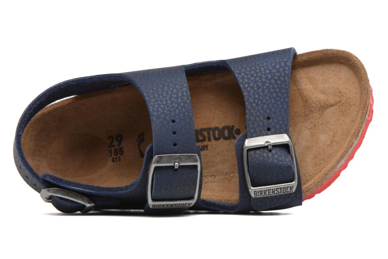 Sandales et nu-pieds Birkenstock Milano Kids Bleu vue gauche