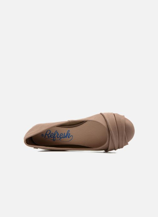 Ballerines Refresh Sandy 61732 Marron vue gauche