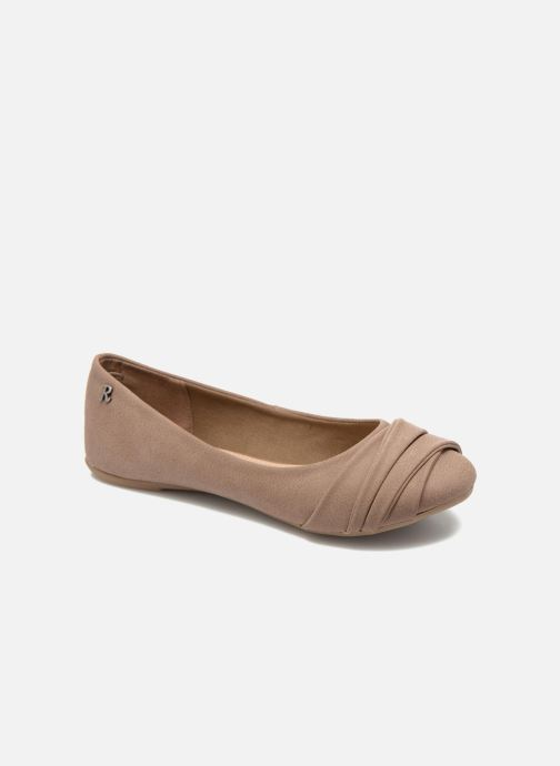 Ballerines Refresh Sandy 61732 Marron vue détail/paire