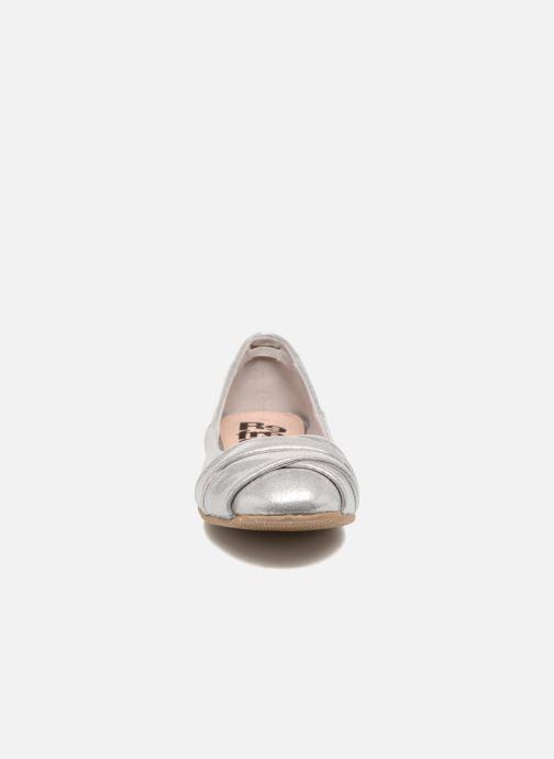 Ballerines Refresh Sandy 61732 Argent vue portées chaussures