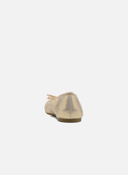 Bailarinas Refresh Coline 61818 Oro y bronce vista lateral derecha