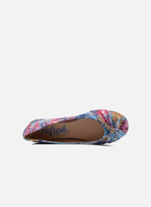 Ballet pumps Refresh Island 61731 Multicolor view from the left