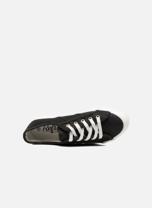 Sneakers Refresh Cory 61908 Nero immagine sinistra