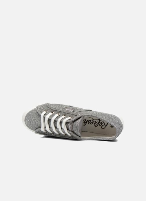 Sneaker Refresh Cory 61908 silber ansicht von links