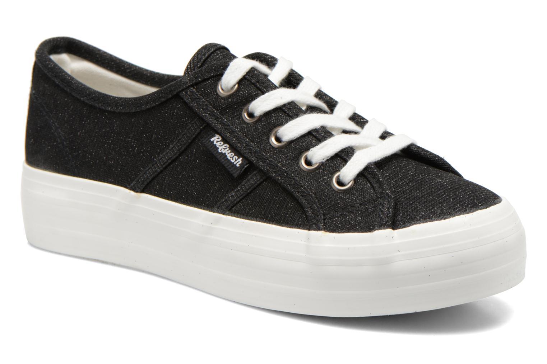 Sneakers Refresh Cory 61908 Sort detaljeret billede af skoene