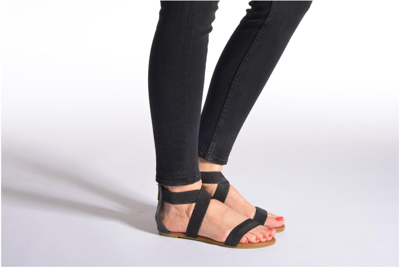 Sandales et nu-pieds Refresh Ballade 61831 Or et bronze vue bas / vue portée sac