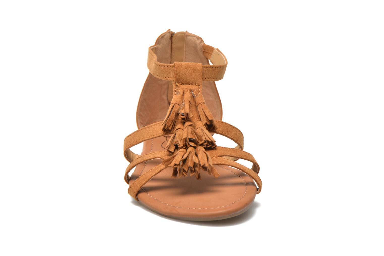 Sandales et nu-pieds Refresh Festival 61859 Marron vue portées chaussures