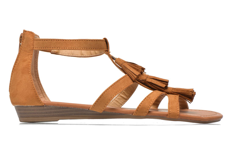 Sandales et nu-pieds Refresh Festival 61859 Marron vue derrière