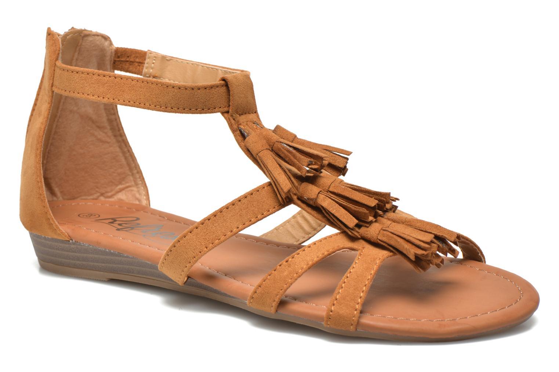Sandales et nu-pieds Refresh Festival 61859 Marron vue détail/paire