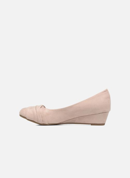 High heels Refresh Paradis 61762 Beige front view