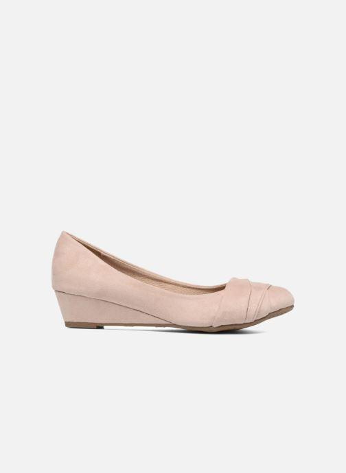 Zapatos de tacón Refresh Paradis 61762 Beige vistra trasera