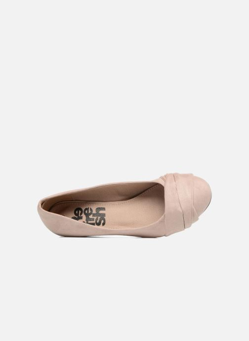 Pumps Refresh Paradis 61762 beige ansicht von links