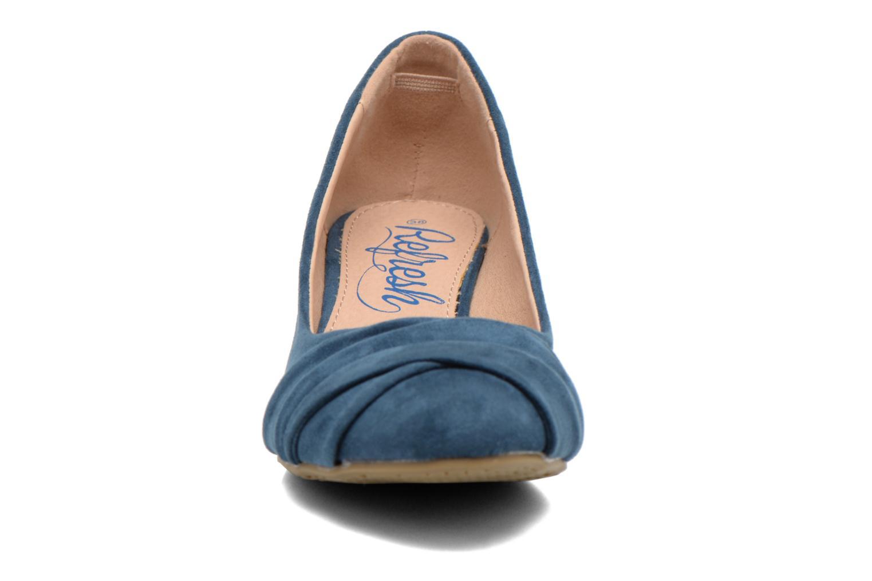 Escarpins Refresh Paradis 61762 Bleu vue portées chaussures