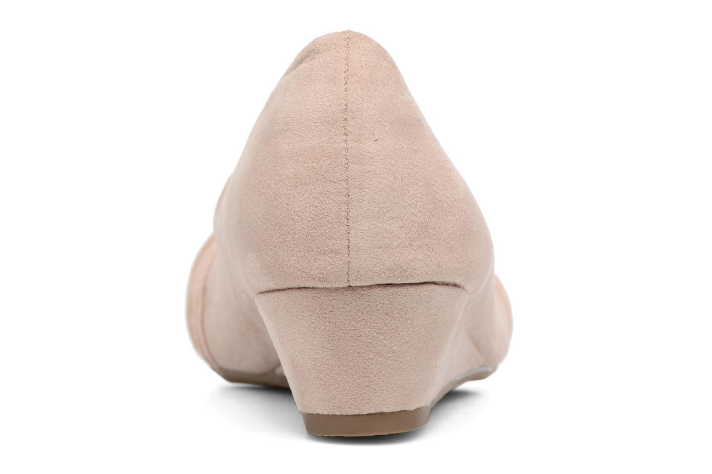 Zapatos de tacón Refresh Paradis 61762 Beige vista lateral derecha