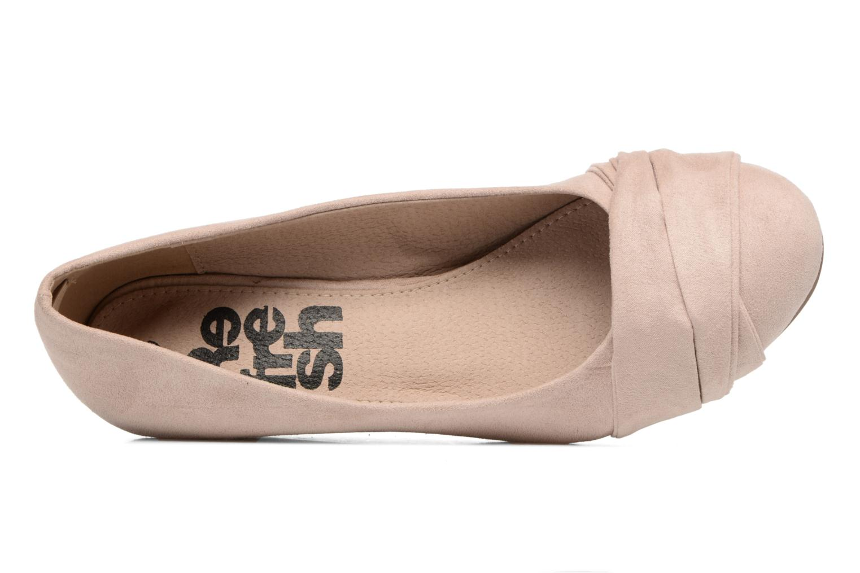 Zapatos de tacón Refresh Paradis 61762 Beige vista lateral izquierda