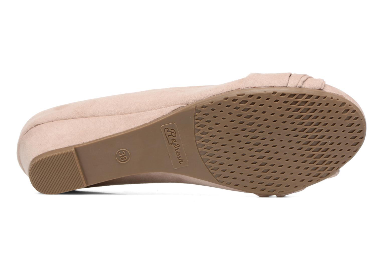 Zapatos de tacón Refresh Paradis 61762 Beige vista de arriba