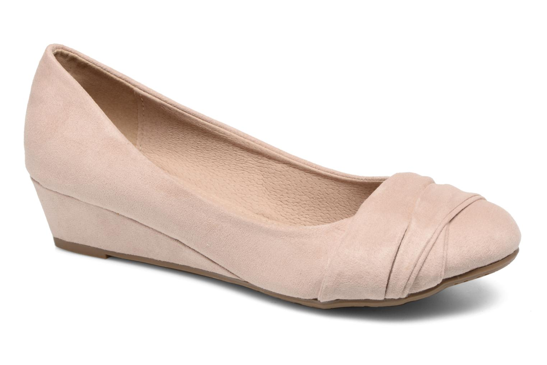 Zapatos de tacón Refresh Paradis 61762 Beige vista de detalle / par