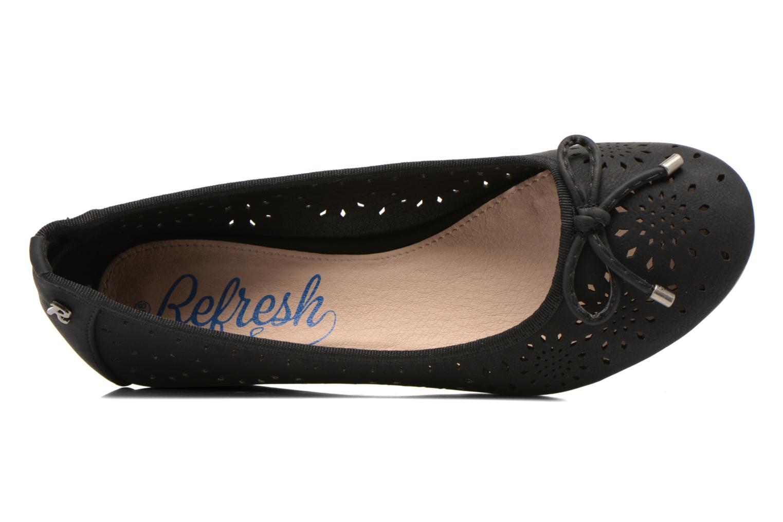 Zapatos de tacón Refresh Lumos 61726 Negro vista lateral izquierda