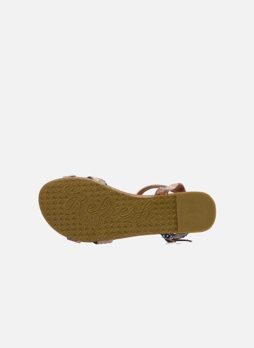 Sandales et nu-pieds Refresh Palmier 61832 Multicolore vue haut