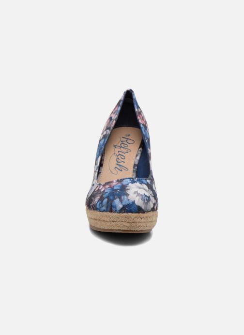 Escarpins Refresh Sunset 61720 Bleu vue portées chaussures