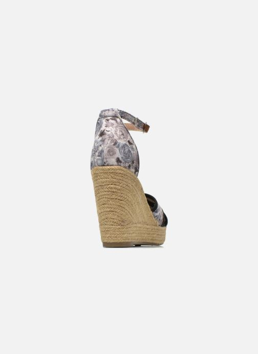 Sandales et nu-pieds Refresh Papaye 61717 Noir vue droite