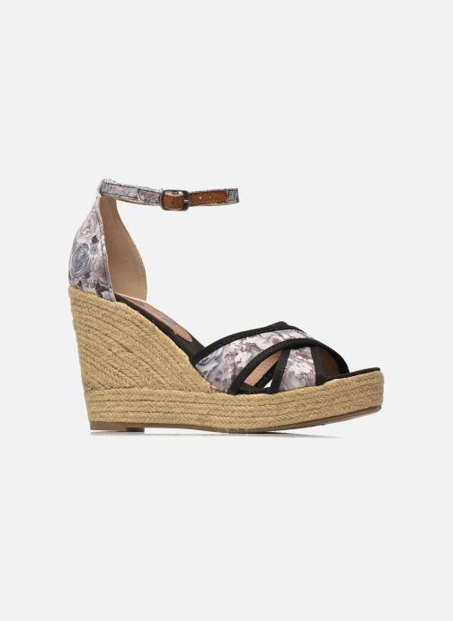 Sandales et nu-pieds Refresh Papaye 61717 Noir vue derrière